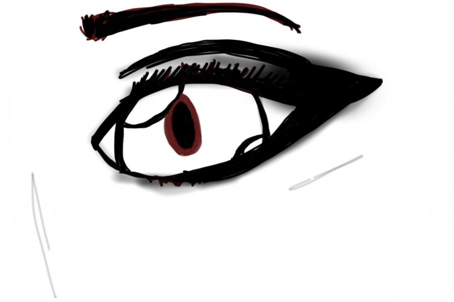 Drawing of eye