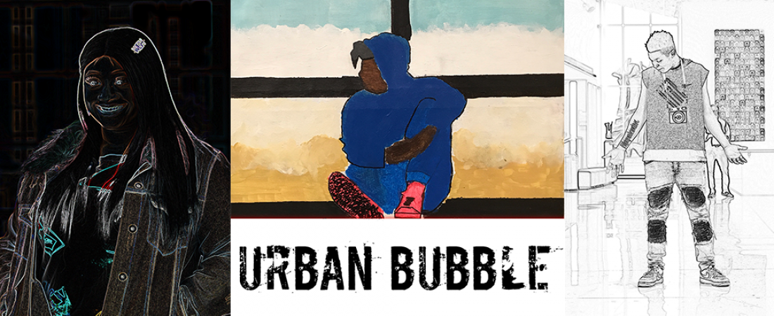 Madison Bubbler and Foundations Central presents URBAN BUBBLE teen art exhibition