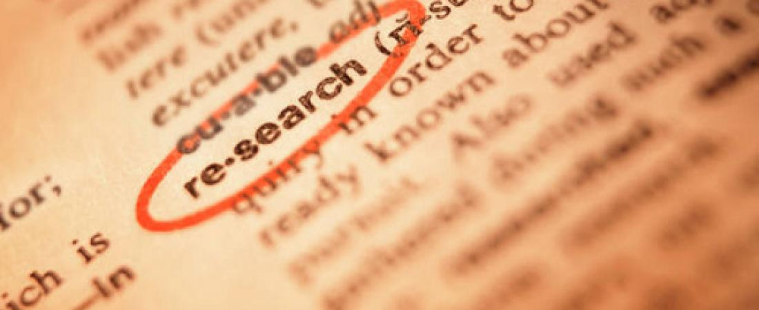"picture of the word ""research"" in the dictionary"