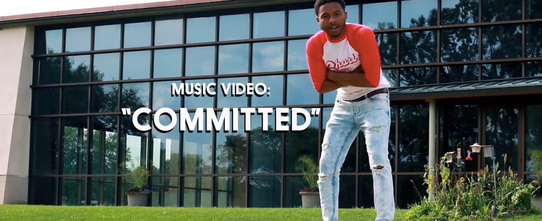 "Cover photo of ""Committed"" music video"