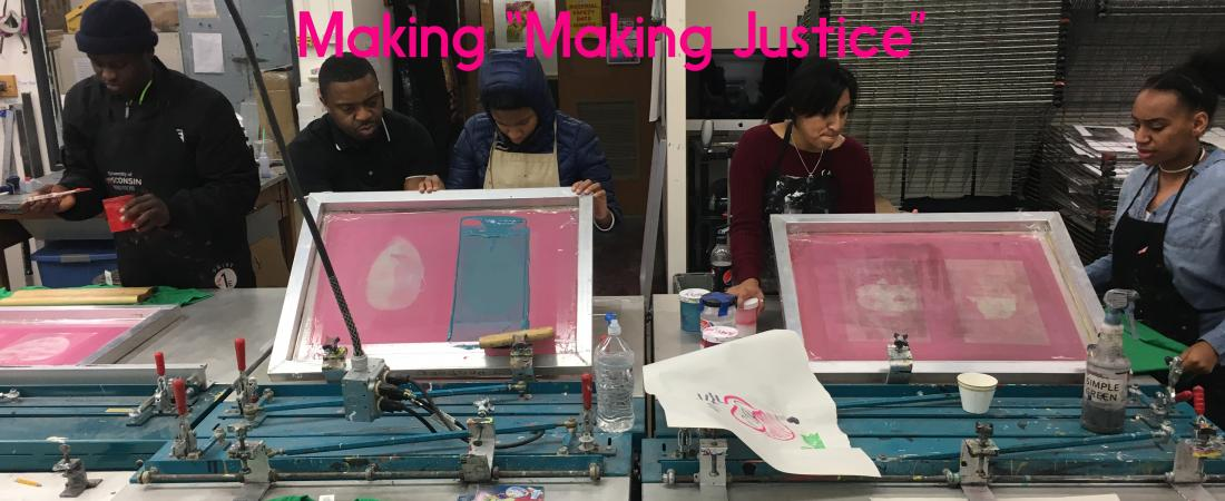 Madison Public Library's Making Justice program behind the scenes