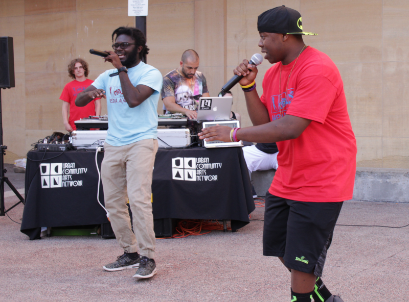Madison Public Library Bubbler Media Academy Around The Way live teen concert Jalen McCullough Protege The Pro Soodonim