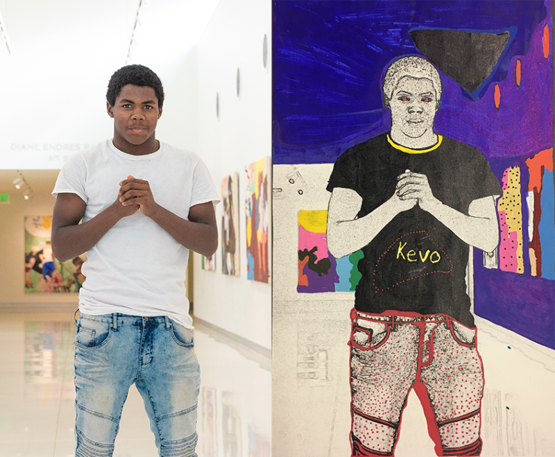 """This My Life. This My Art"" teen art exhibition with Madison Public Library Bubbler"