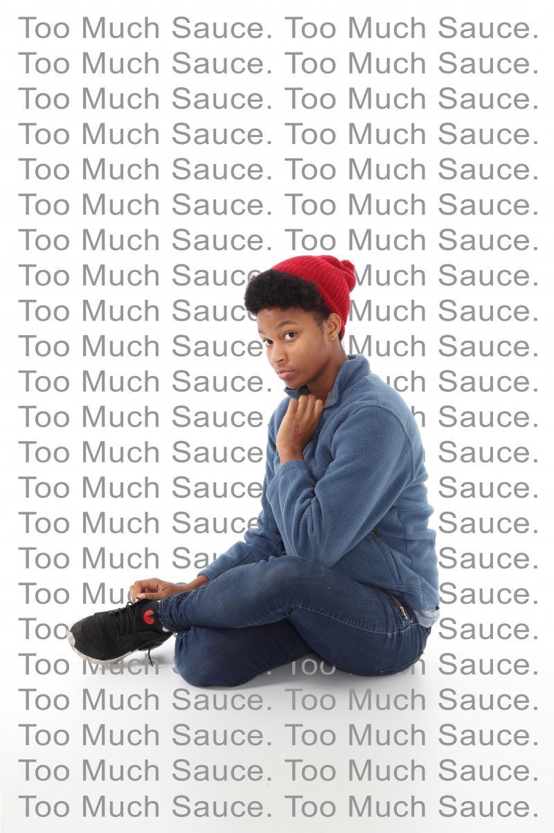 Too Much Sauce teen art exhibition