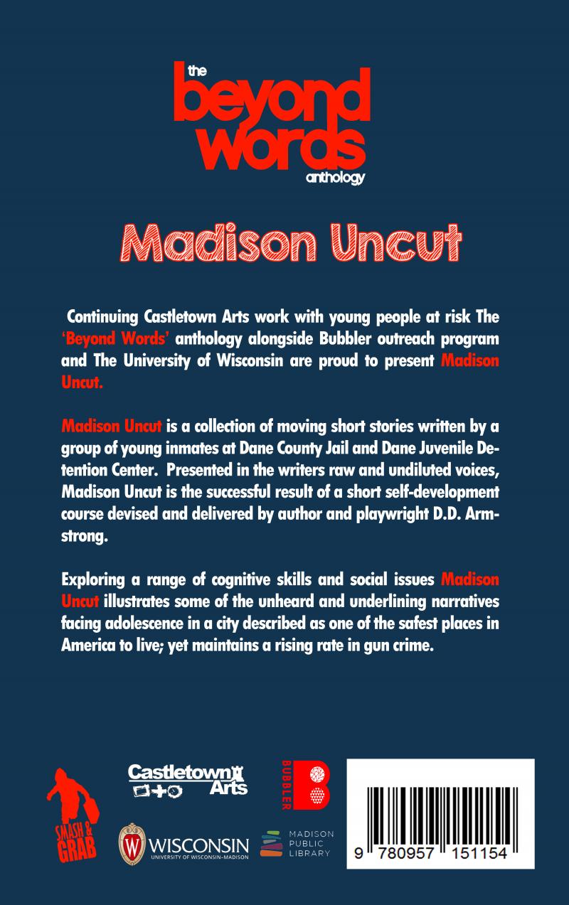 """The Beyond Words Anthology: Madison Uncut"" short stories with DD Armstrong"