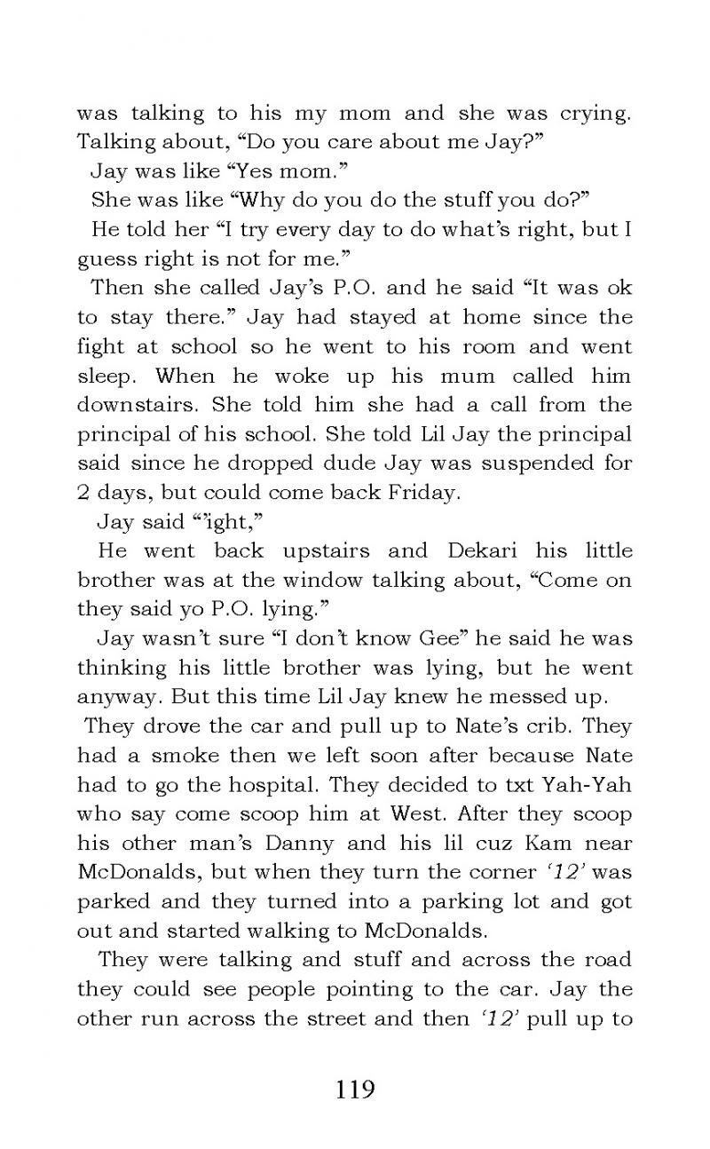 """Life Struggles"" short story"