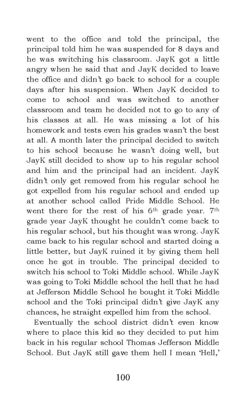 """The Story of JayK-47"" short story"
