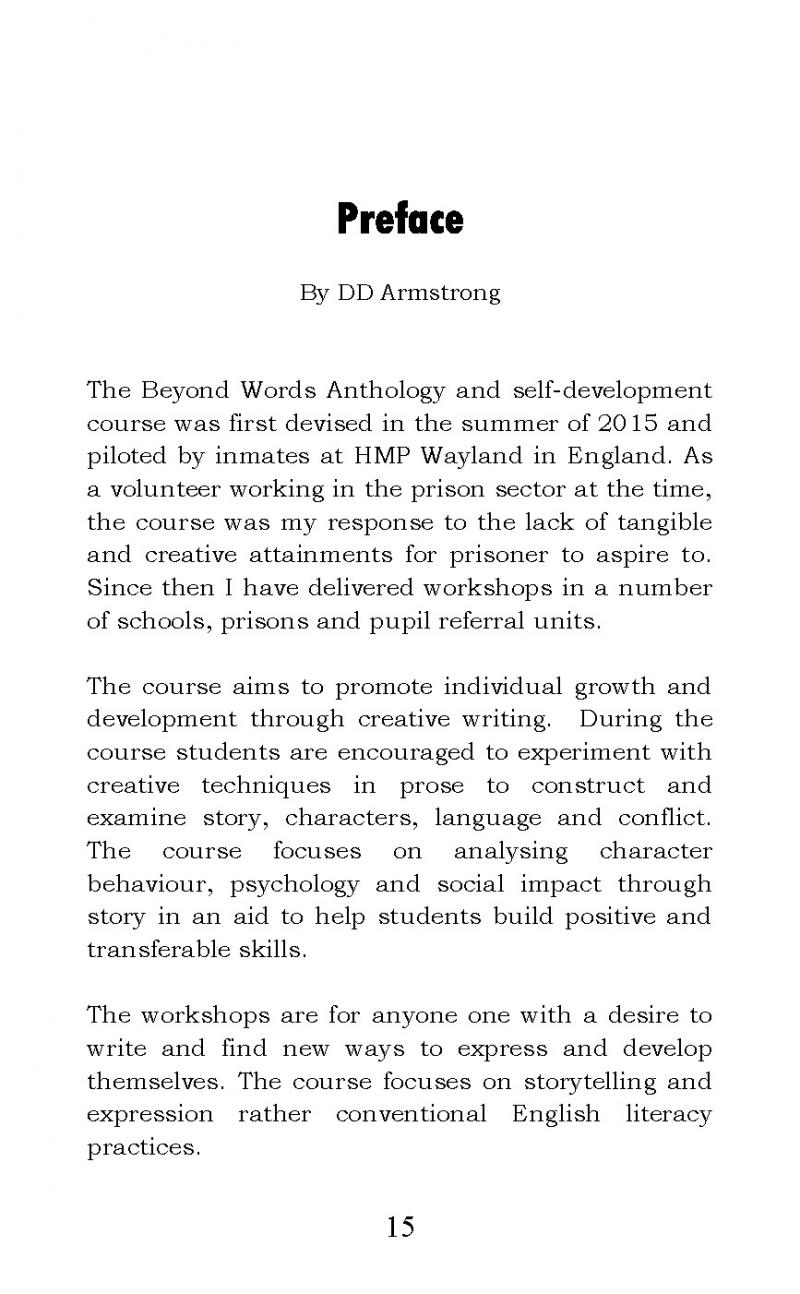 """""""The Beyond Words Anthology: Madison Uncut"""" short stories with DD Armstrong"""