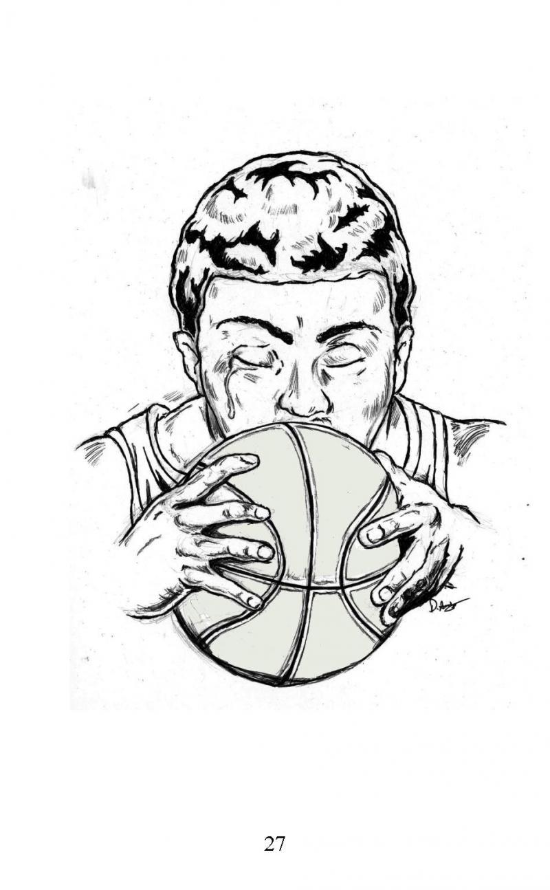 """Three Shots"" short story illustration"